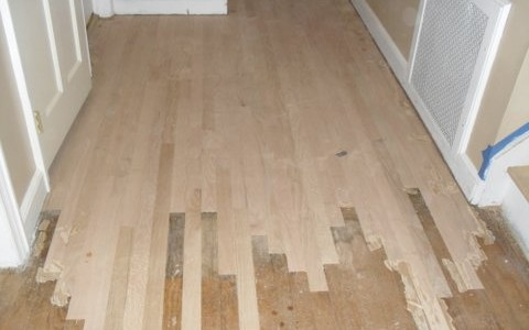 Hardwood Repair – Match to Existing