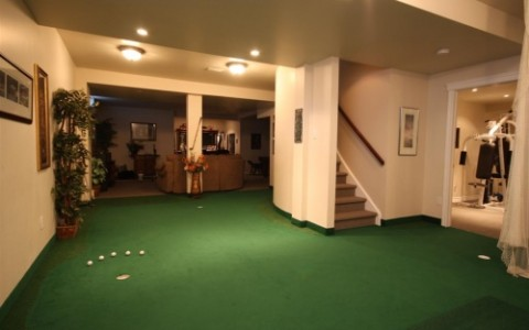 Putting Green – Basement