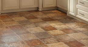 Sheet Vinyl Flooring – Tile Pattern