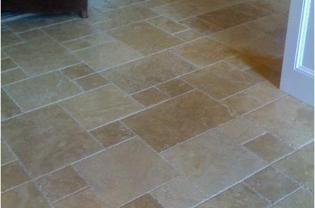 Travertine Tile – Versailles Pattern