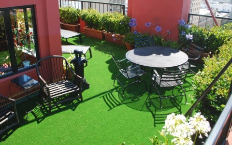 Turf Flooring  – Deck or Patio