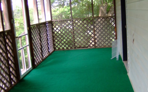 Turf Flooring – Porch