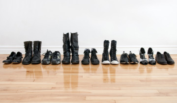 Leave your shoes at the door to keep dust and pollutants off your floors.